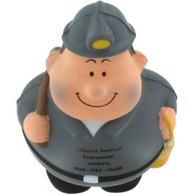 Imprinted Miner Bert Stress Reliever