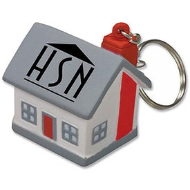Mini Cottage House Stress Reliever KeyTag