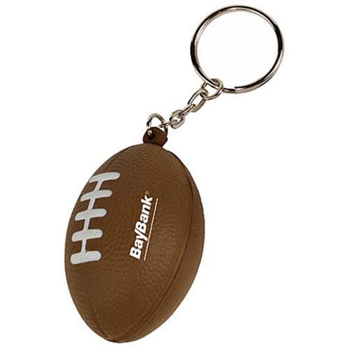 Mini Football Stress Reliever Key Tag