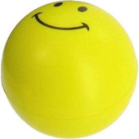 Company Mini Smiley Face Stress Reliever