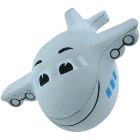 Mini Airplane Stress Reliever with Sound Branded with Your Logo