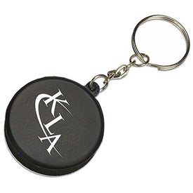 Mini Hockey Puck Stress Reliever KeyTag