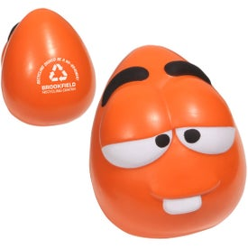 Mini Mood Maniac Stress Ball (Orange)