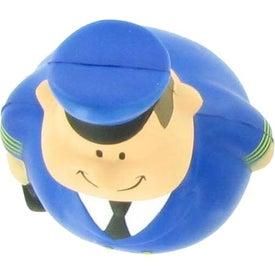 Modern Pilot Bert Stress Reliever with Your Logo