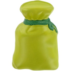 Money Bag Stress Toy Imprinted with Your Logo