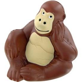 Personalized Monkey Stress Toy