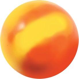 Custom Mood Smiley Face Stress Ball