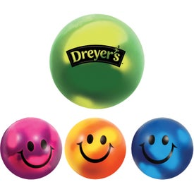 Personalized Mood Smiley Face Stress Ball