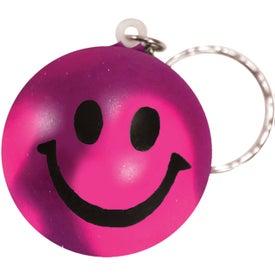 Monogrammed Mood Stress Key Chain