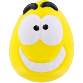 Mood Maniac Wobbler Stress Ball (Yellow)