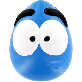 Mood Maniac Wobbler Stress Ball (Blue)