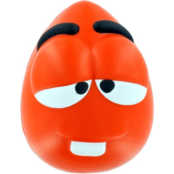 Orange Mood Maniac Wobbler Stress Ball