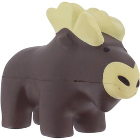 Monogrammed Moose Stress Reliever