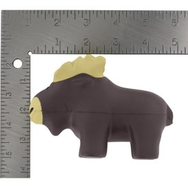 Personalized Moose Stress Reliever