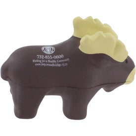 Imprinted Moose Stress Reliever