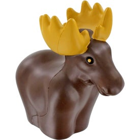 Moose Stress Ball Printed with Your Logo