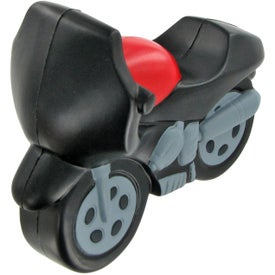 Imprinted Motorcycle Stress Ball