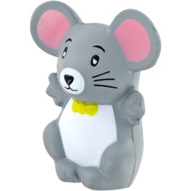 Mouse Stress Toy with Your Slogan
