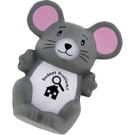 Branded Mouse Stress Ball