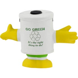 Promotional Mr. Recycle Stress Ball