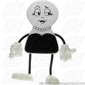 Custom Ms. Personality Figure Stress Ball