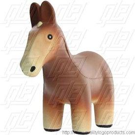 Personalized Mule Stress Ball