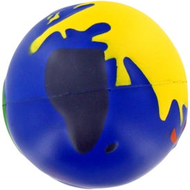 Multicolored Earthball Stress Ball