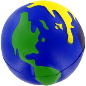Customized Multicolored Earthball Stress Ball