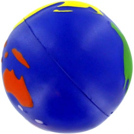 Multicolored Earthball Stress Ball for Your Organization
