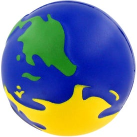 Multicolored Earthball Stress Ball for Your Company