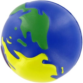 Multi-Earth Ball Stress Toy with Your Logo