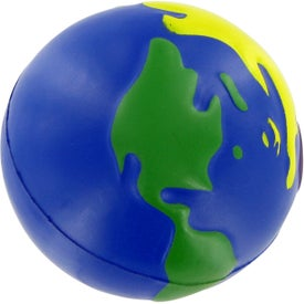 Multi-Earth Ball Stress Toy Imprinted with Your Logo
