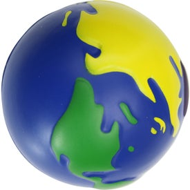 Multi-Earth Ball Stress Toy Branded with Your Logo
