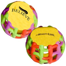Promotional Multi-Color Tangle Matrix Stress Reliever