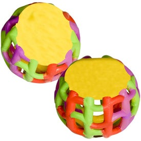 Multi-Color Tangle Matrix Stress Reliever with Your Logo