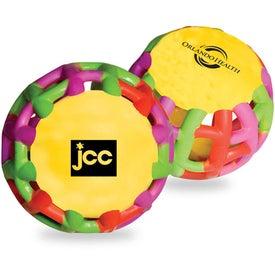 Company Multi-Color Tangle Matrix Stress Reliever