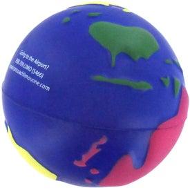 Company Multi Colored Earth Stress Reliever