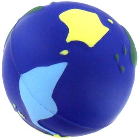 Multi Colored Earth Stress Reliever with Your Slogan