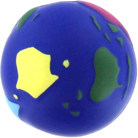 Printed Multi Colored Earth Stress Reliever