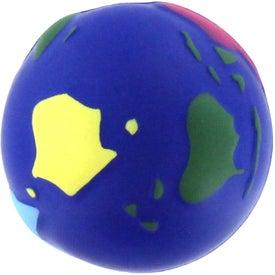 Printed Multi Colored Earth Stress Reliever