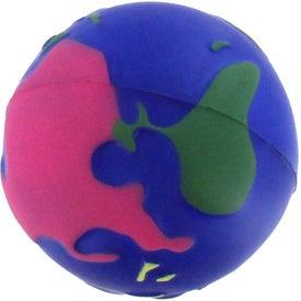 Multi Colored Earth Stress Reliever