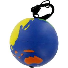 Branded Multicolored Earthball Yo Yo Stress Ball