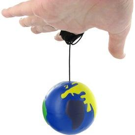 Multicolored Earthball Yo Yo Stress Ball for Your Church