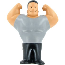Muscle Man Stress Ball for Marketing