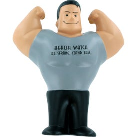 Imprinted Muscle Man Stress Ball