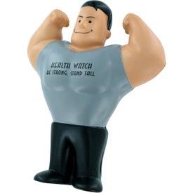 Printed Muscle Man Stress Ball