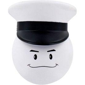 Navy Officer Mad Cap Stress Ball