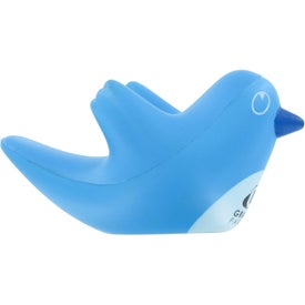 Printed Networking Bird Stress Ball
