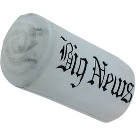 Newspaper Stress Reliever Imprinted with Your Logo