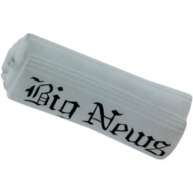 Newspaper Stress Reliever for Customization